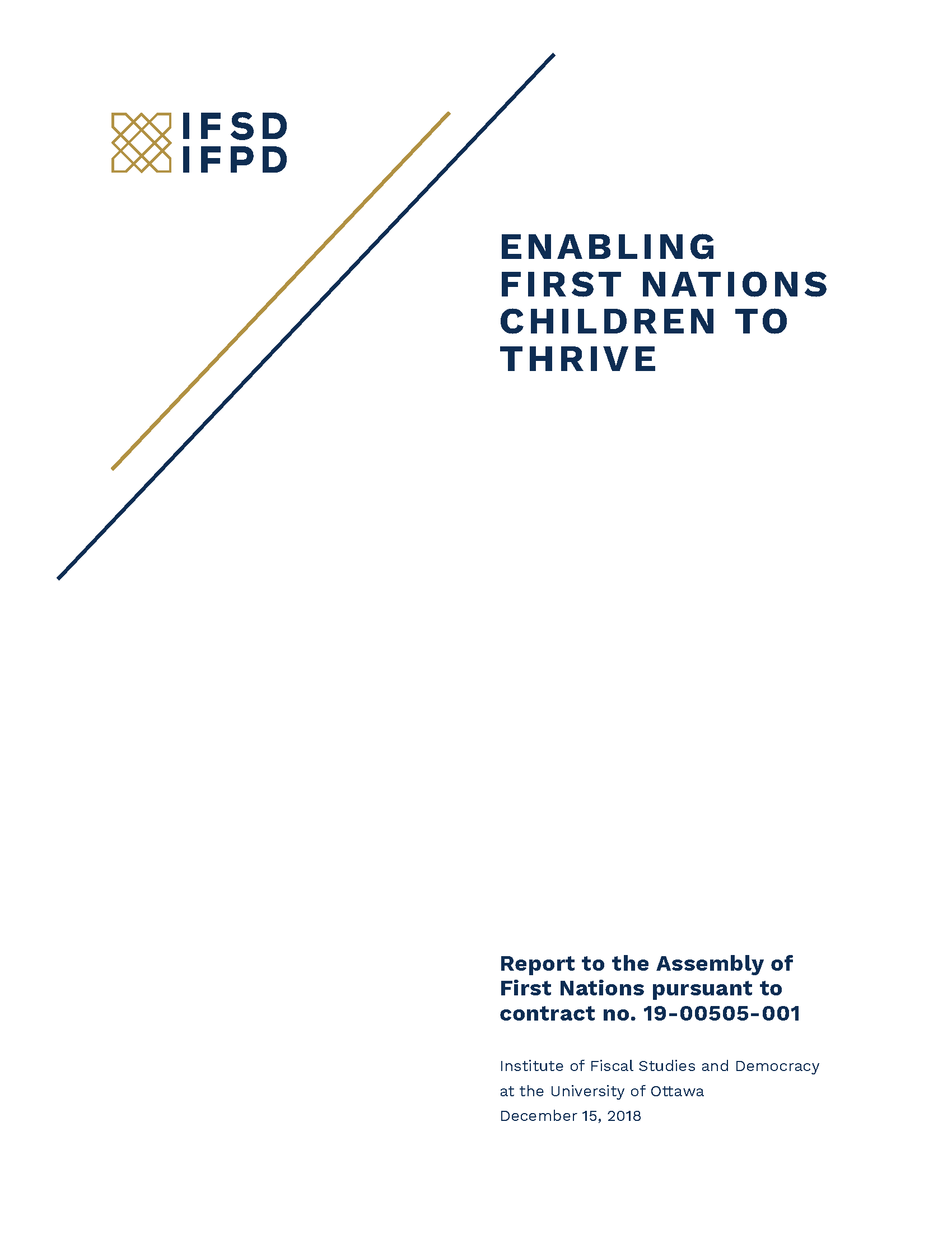 IFSD First Nations Report
